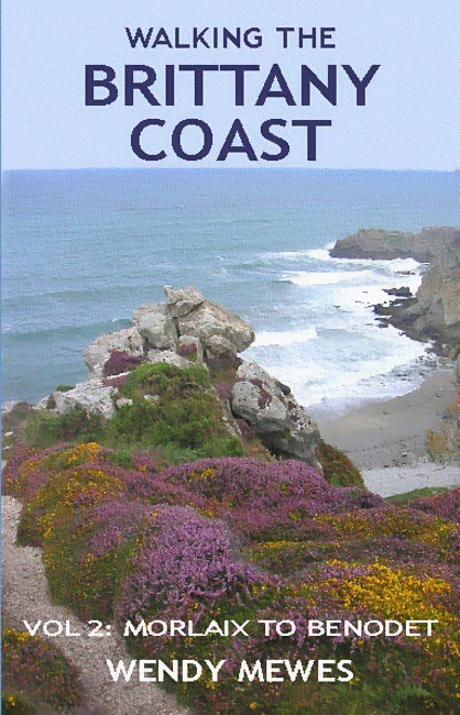 Walking the Brittany Coast vol 2 - guide - front cover